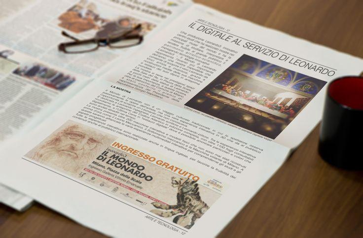 A Milano, Piazza della Scala, è aperto al pubblico l'L3, una mostra unica che vi farà scoprire il vero Leonardo da Vinci inventore ed artista grazie a inedite ricostruzioni delle sue macchine e restauri dei suoi dipinti in anteprima mondiale. Ghelco si è dedicata con passione alla riproduzione dell'Ultima Cena, grazie alle peculiarità tecniche dei sistemi Valjet. Onorati di aver servito Leonardo.