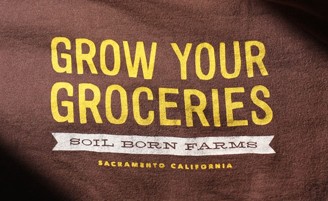 Soil born farm classic tee grow your own groceries for Soil born farms