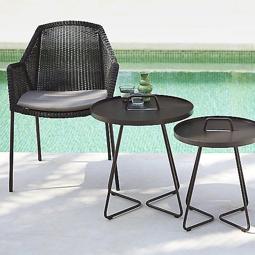 Breeze Stackable Armchair by Cane-line at Lumens.com