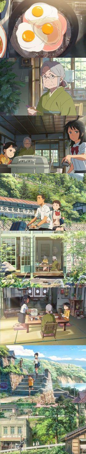 Your name  (2016) -  Makoto Shinkai