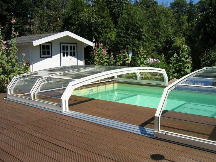 106 best images about pool enclosures low on pinterest around the worlds wooden houses and Retractable swimming pool enclosures