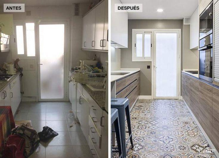Reforma de un piso de 90 m2 antes y despu s antes y for Mi piso antes y despues