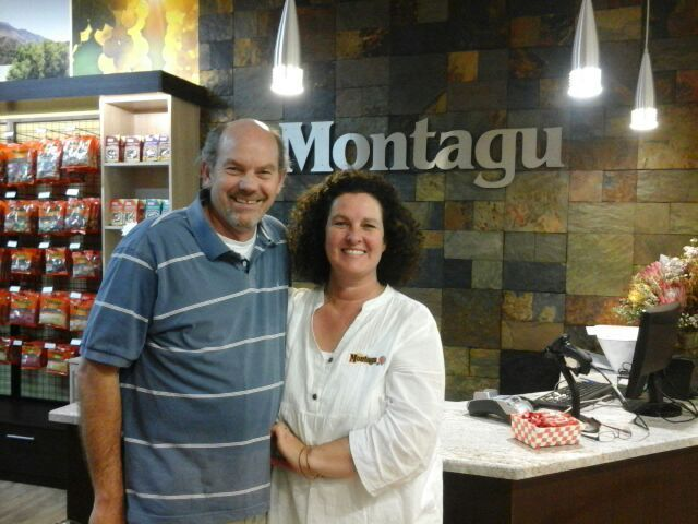 Meet our franchisee team of the week...Paul and Lisa Taylor! Husband and wife team, Paul and Lisa own five Montagu franchise stores on the Garden Route: Market Square in Plettenberg Bay, Langeberg Mall and Mossel Bay Mall in Mossel Bay, and St Georges Square and Garden Route Mall in George. They also look after the Knysna Mall store on our behalf.  Their strong relationship with the Montagu-franchisor team is the cherry on top of a thriving business.
