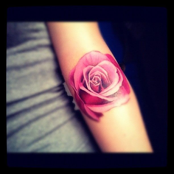 I Already Have One Rose Tattoo . . . But, I Really Like The Soft Edges On This One. . .maybe One More
