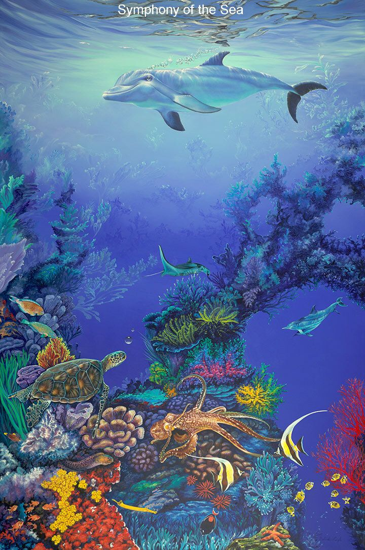 114 best under the sea art images on pinterest for Fish under the sea