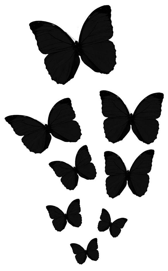 Mariposas Ideas Para Decorar Con Vinilos Y Plantillas Pinterest