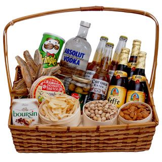 Beer Gift Baskets to Azerbaijan - Send Heart of Russia Basket