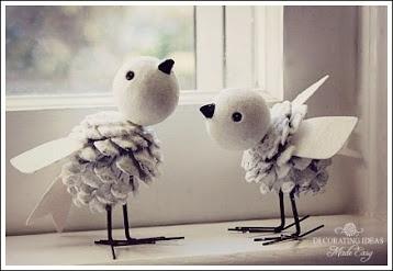Sweet Little Winter Birds