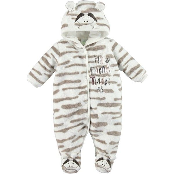 Boys Disney Tigger Fleece Pram Suit ❤ liked on Polyvore featuring kids clothes