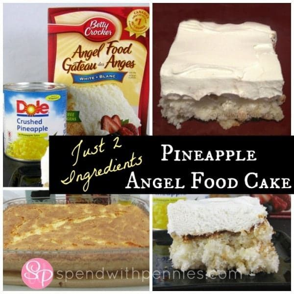 It truly doesn't get easier than this! Stir together two ingredients and .. VOILA… amazing, moist and delicious cake! You don't even have to grease the pan! I make this often and it's always gone. You can top it with whipped topping or ice-cream but it's moist enough to just be eaten on it's own! …