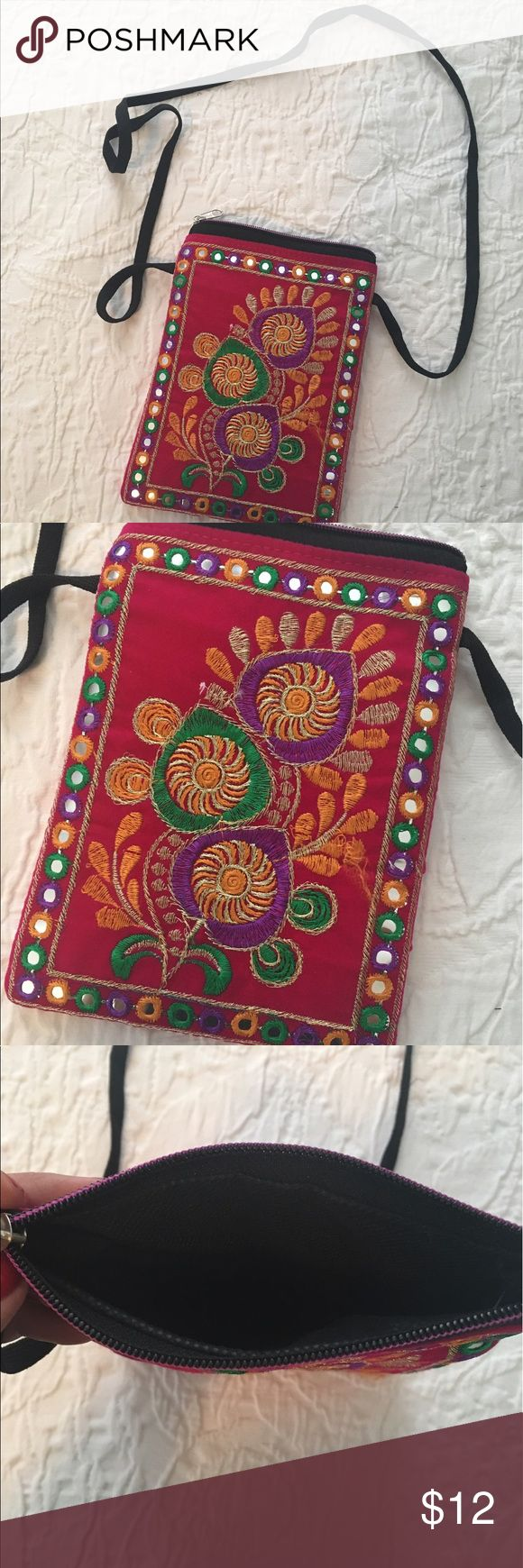 Authentic Indian Side Purse Authentic Indian Side Purse. Never used! Bags Crossbody Bags