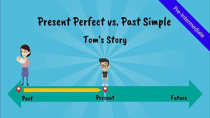 Present Perfect Tense vs. Past Simple: Tom's Story (A comical story of T...