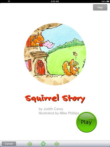 'Squirrel Story Narrative Assessment'($39.99)  is a narrative re-telling task for three to six year old children that yields a descriptive profile of a child's development in six key narrative competencies. It complements the more formal assessment tools available to the speech-language therapist /pathologist or teacher.