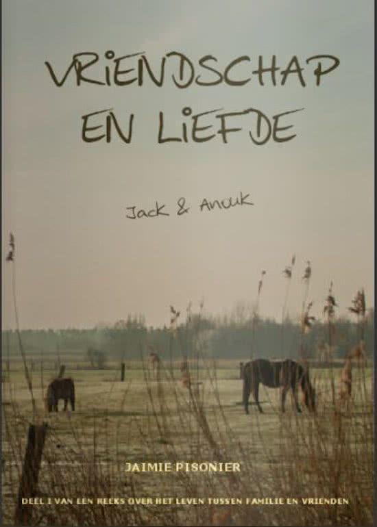 'Vriendschap en liefde'  is het sympathieke debuut van Jaimie Pisonier. Anouk woont in het huisje van haar oma en zoekt een huisgenoot. Ze heeft een moeilijke periode achter de rug, maar kan steeds op haar collega/vriend Thomas rekenen. Jack, met Texaanse roots, is een sympathieke paardenliefhebber. Hoe Anouk en Jack elkaar leren kennen,  wat ze samen meemaken en hoe het verleden hun leven beïnvloedt kan je in 'Vriendschap en liefde' lezen. #weekvandedebutant #hebban