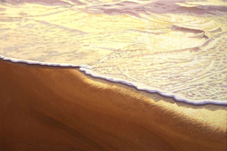 """Golden Light"" by Adrian Ball. Paintings for Sale. Bluethumb - Online Art Gallery"