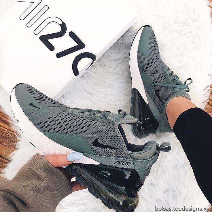 Zapatillas Nike Air Max 270 en verde militar y blanco ...