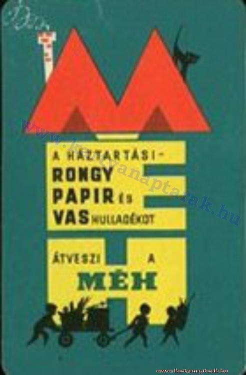 1964 - 1964_0168 - Régi magyar kártyanaptárak