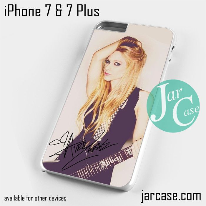 Avril Lavigne Ready To Show Phone case for iPhone 7 and 7 Plus
