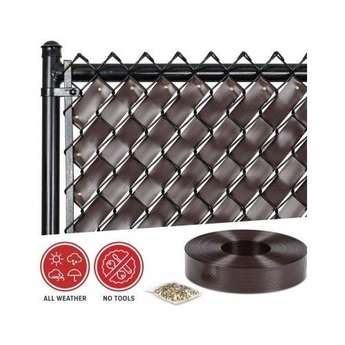 25 best chain link fence supplies ideas on pinterest for Chain link privacy panels