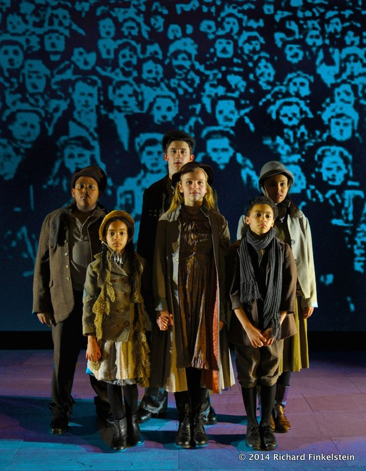 Orphan Train, the Musical, with direction by Pat Birch and Sct design and projection design by Richard Finkelstein