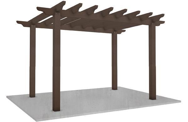 WPC Pergola kunststof houten Pergola Pergola grote moderne tuin Pergola houten tuin Pergola kleine Pergola Kits kwaliteit producten fabrikant en leveranciers China - groothandel van bedrijf - Lisen hout-plstic