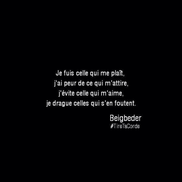 #Beigbeder #TireTaCorde