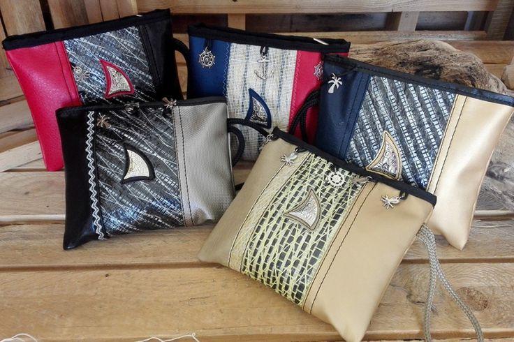 Le pochette in vela riciclata di luglio - Le news di Bolina Sail: novità sui prodotti artigianali in vela riciclata