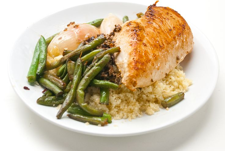 Kylling og couscous i tapenade - chezENGH