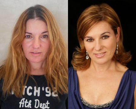 """Makeover l Chata Romano """"Wow, what a difference! An unforgettable experience; every woman needs this to boost their self-esteem. I was very excited at the idea of change – I loved the end result and, most of all, my husband does to! The friendliness and professionalism of the Chata Romano team was unbelievable!"""" – Liezel"""