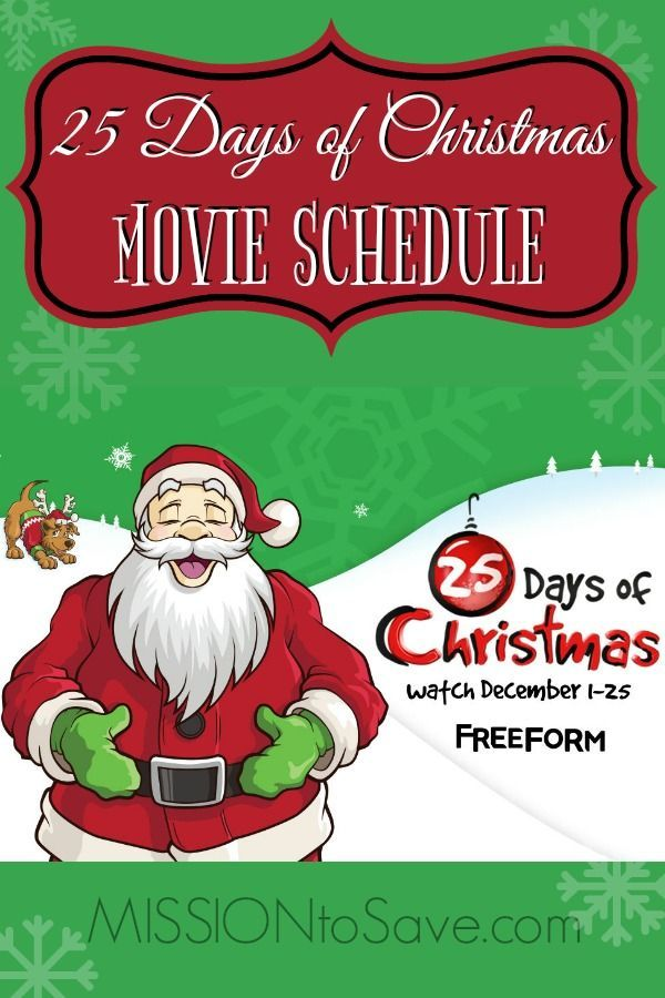 check out the great line up on this years freeform 25 days of christmas movie schedule whats your favorite holiday movie did it make the list