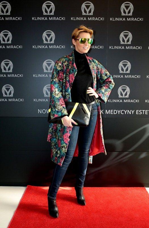 Ilona Felicjańska na przemierze lasera PicoSure w Klinice Miracki / Ilona Felicjańska at the premiere of the laser in the Department Miracki PicoSure