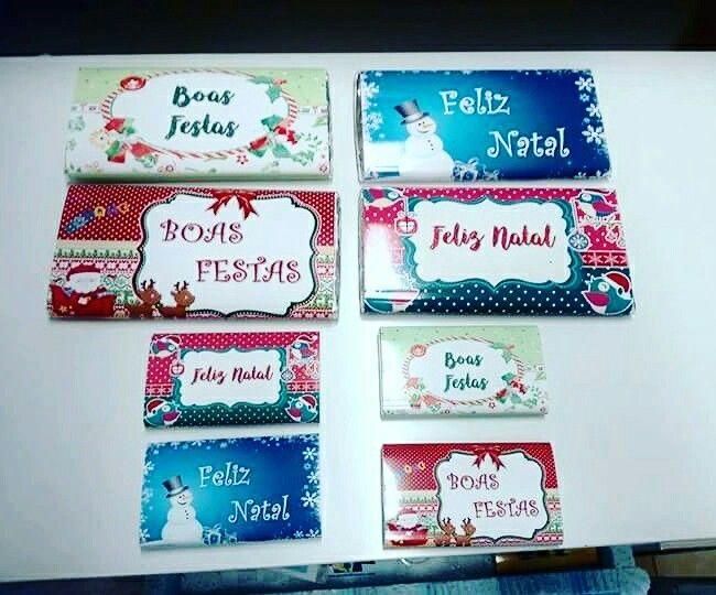 Precisa de uma prendinha para um famíliar, amigo ou colega de trabalho? Temos os chocolatinhos para o Natal... VEJA a foto em BAIXO: