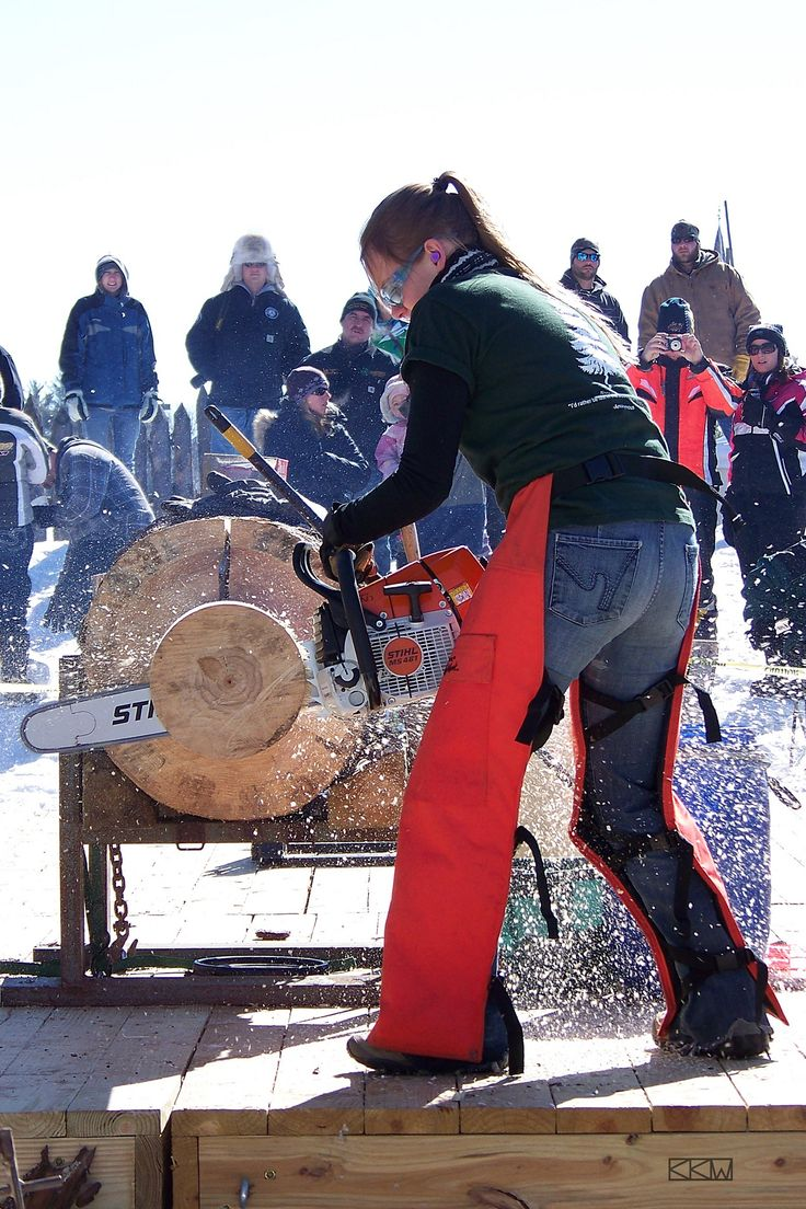 https://flic.kr/p/ee8wPK | Contestant at the Great Northern Lumberjack Competition at the Klondike Days Festival in Eagle River, Wisconsin, 03/02/2013 1:10p.m. | Contestant at the Great Northern Lumberjack Competition at the Klondike Days Festival in Eagle River, Wisconsin, 03/02/2013 1:10p.m.  photograph, cropped, enlarged, logo added 9in.x6in.