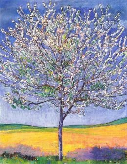 Ferdinand Hodler - Cherry Tree in Bloom