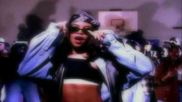 Aaliyah - Back And Forth HD