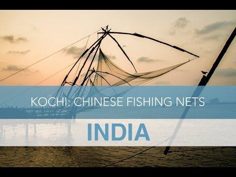India: Chinese Fishing Nets at Fort Kochi   Seek The World