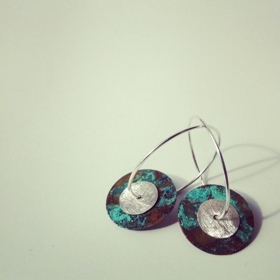 Aros pequeños òxids / Claudia Llop - Artesanio