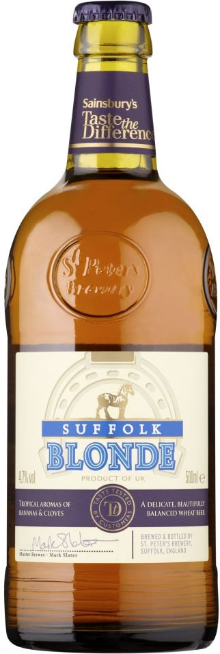 Sainsbury's Taste the Difference Suffolk Blonde Ale (500ml)