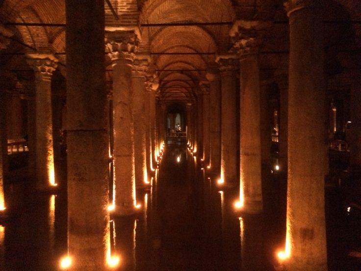 Yerebaten Sarenici - Basilica Cistern, Istanbul, Turkey 2015