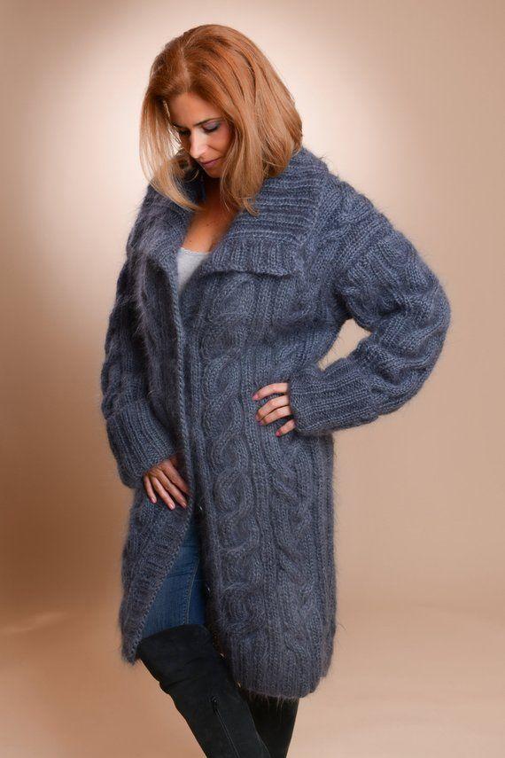 hochwertige strickjacke mit kragen damen lambswool uk