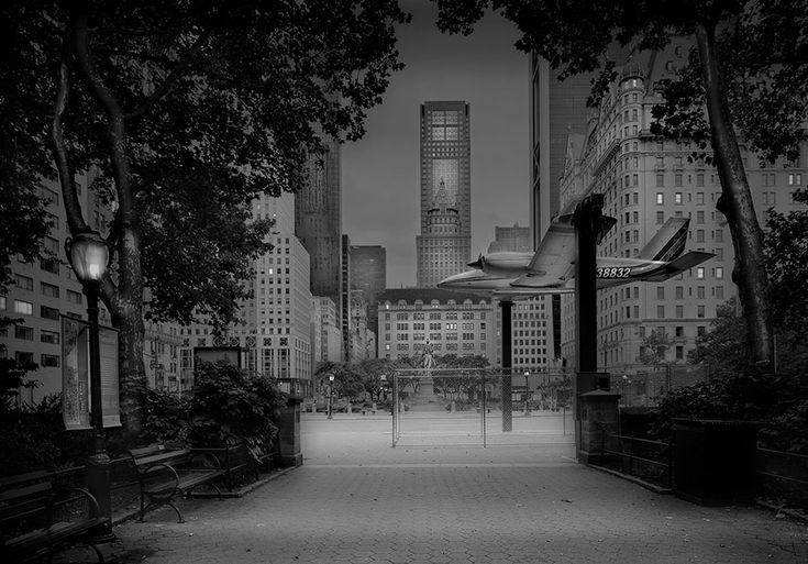 10+ fotos de assombro do Central Park à noite, tomadas pelo fotógrafo que sofre de insônia terrível