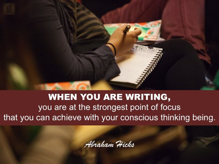 #AbrahamHicks #New Story #Writing