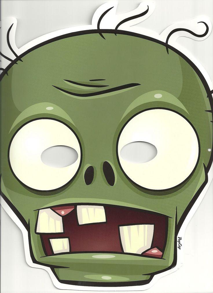 Resultado de imagen para caretas plantas vs zombies gratis