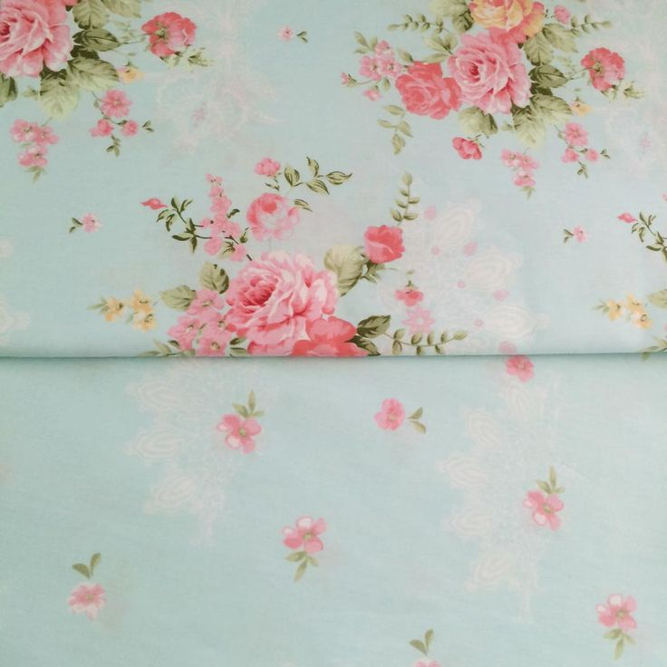 Cheap cloth fabric, Buy Quality blue floral directly from China diy cloth Suppliers: 100% cotton fresh elegant Blue floral pastoral twill cloth DIY for kid bedding dress shabby chic curtain telas fabric