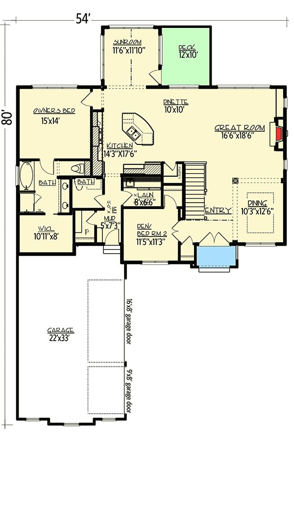 The 25 Best Ideas About Rambler House Plans On Pinterest