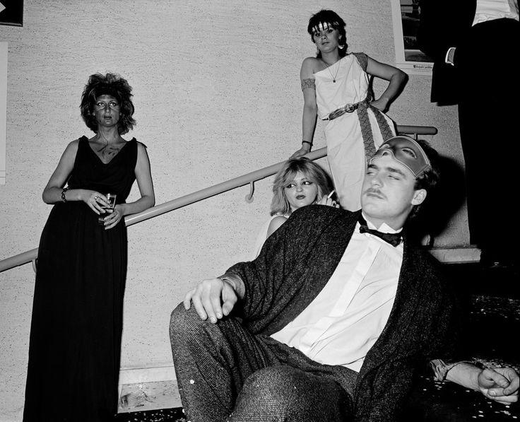 """Carnaval """"bal du Rat Mort"""", Ostend, Belgium. ph. Carl De Keyzer, 1986"""