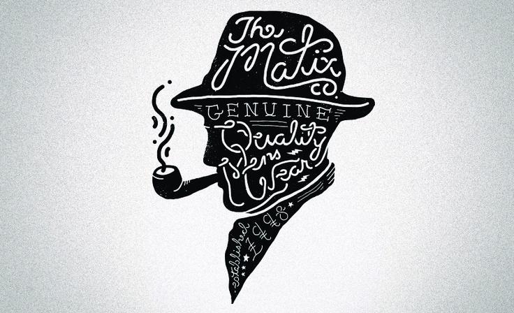 Apparel  //  Matix Clothing Co.: Typography Branding, Graphics Intelligence, Verbal Art, Illustration, Graphics Design, Start Posts, Clothing Company, Types Attack, Matix Clothing