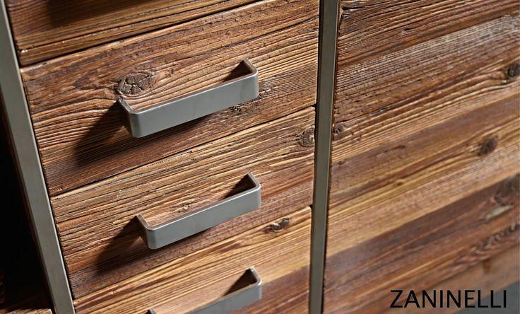 Dettaglio dei cassetti della cucina Masi Alti  -  Detail of he drawers of he kitchen Masi Alti