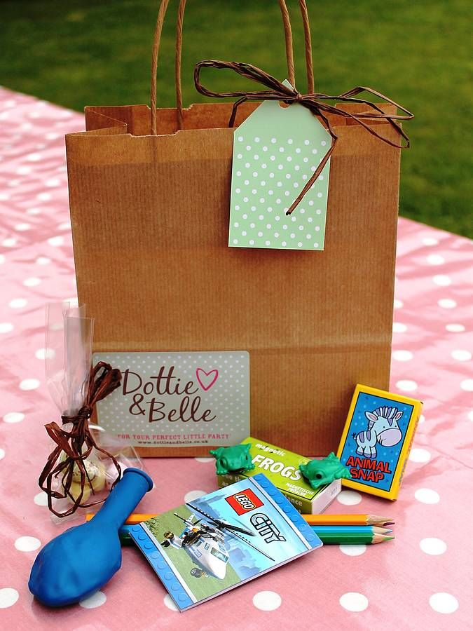 Wedding Activities Bag For Boys