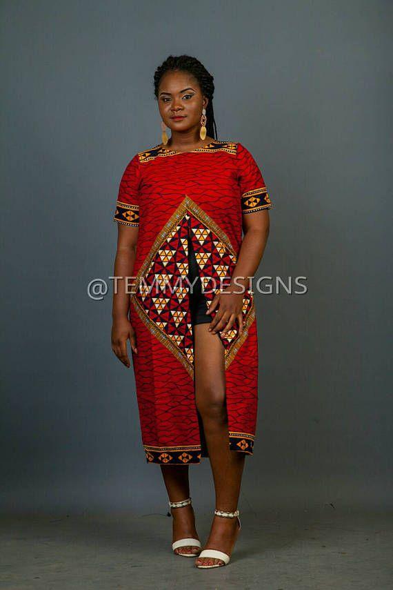 Afrikaanse kimono jurk van Ankara, Ankara weefsel, Afrikaanse weefsel, Afrikaanse print, Afrikaanse kleding, vrouwen kleding, Afrikaanse jurk